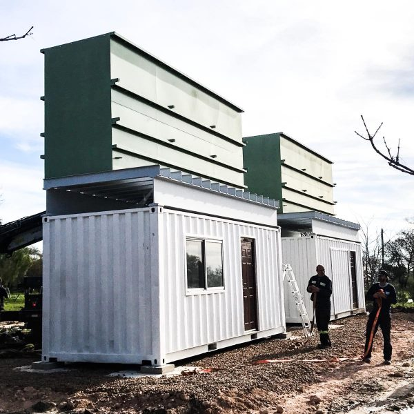 Proyecto Oficina Container OSE